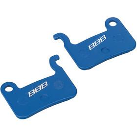 BBB BBS-54 Skivebremsebelægninger Shimano, blue